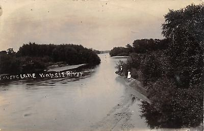 Wheatland KS~Little Wapsi River~Commencement Exercise~Cong~Kannsem RPPC c1914