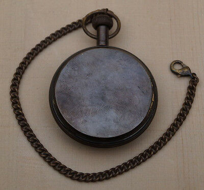 Antique Brass Vintage Victorian Pendant Beautiful Clocks Historical Pocket Watch