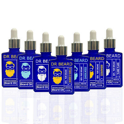 Dr Beard Organic Conditioning Beard Oil 30ml - New - 12 Scents to Choose From!
