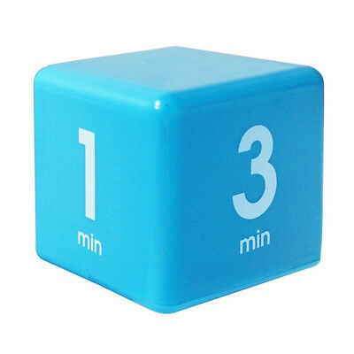 Clock Timer Alarm Cube Digital 5, 15, 30, 60 Minutes Time Management AAA 3 Color