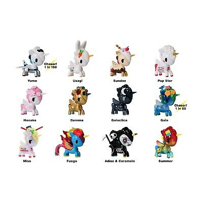 Tokidoki UNICORNO: VINYL ART FIGURE (Series 6) unicorn unicornos Like kidrobot