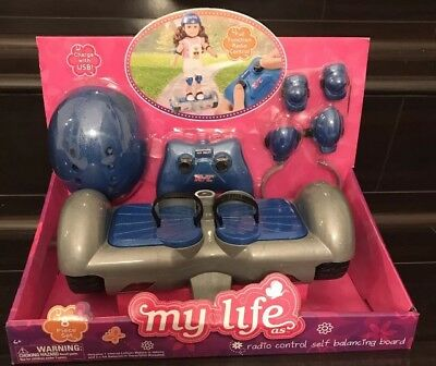 My Life As - Radio Control Self Balancing Ride For 18in Dolls NEW!