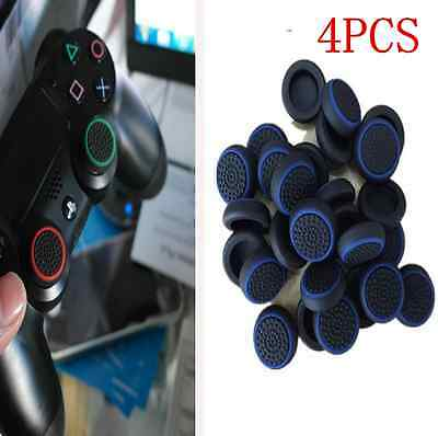Blue Analog 360 Controller Thumb Stick Grip Thumbstick Cap Cover for PS4 XBOX