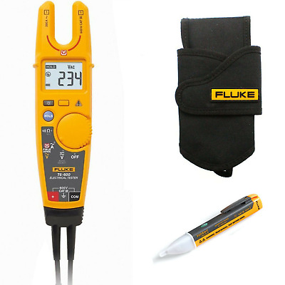 Fluke T6-600 Voltage & Continuity Tester KIT4G with H5 Holster and 1AC Voltstick