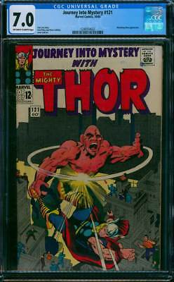 Journey into Mystery # 121  Fury of the Absorbing Man !  CGC 7.0 scarce book !