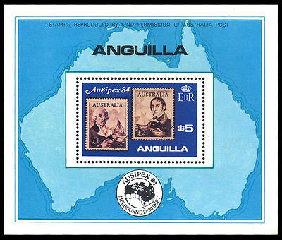 Anguilla 1984 Ausipex Exhibition MS MNH