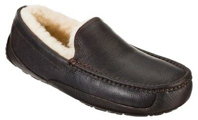 Shoes Men's UGG Ascot Leather Slippers China Tea Color Sz 12 Imported