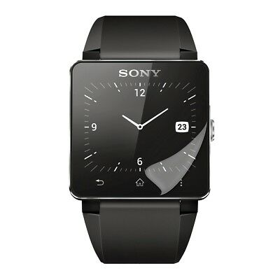 Display Schutz Folie Für Sony Smartwatch 2 Kristall Klar Displayfolie