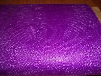 Purple Nylon Net-  By The Yard - Tutus, Scrubbies * 70-72 Inch Width