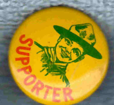 VINTAGE 1950's BOY SCOUTS OF CANADA SUPPORTERS PIN