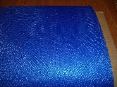 Royal Blue  Nylon Net-  By The Yard - Tutus, Scrubbies * 70-72 Inch Width