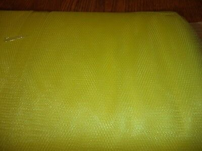Lemon Yellow  Nylon Net-  By The Yard - Tutus, Scrubbies * 70-72 Inch Width