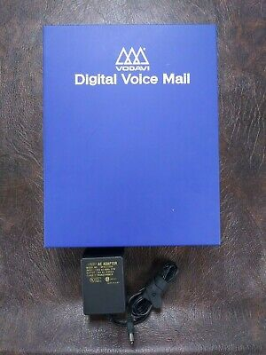 Vodavi DHD-04 Dolphin Digital Voicemail System 303-04, 4-port system, Rev 1A