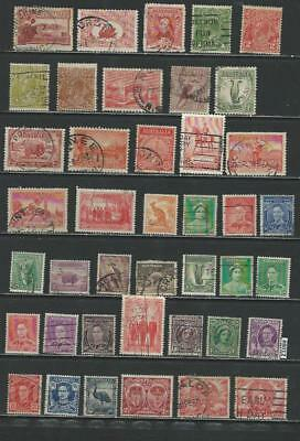 #8012 AUSTRALIA Lot of Early Used Stamps Combine Shipping