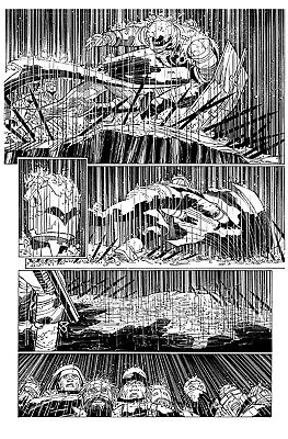 John Romita Jr Richard Friend All Star Batman killer page issue 5 page 28