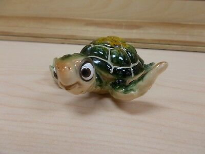 G90153 Baby Sea Turtle Green Statue Decoration Figurine Gsc