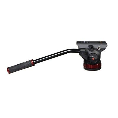 """Manfrotto 502HD Pro Video Head With Flat Base 3/8"""" To 16 Connection BRAND NEW"""