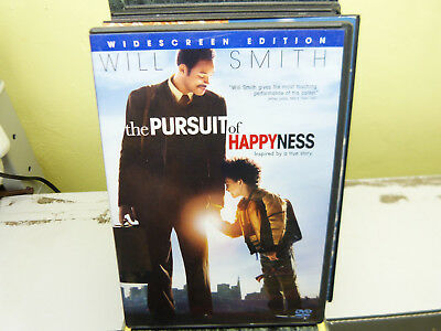 Will Smith's The Pursuit Of Happyness Widescreen Edition Dvd
