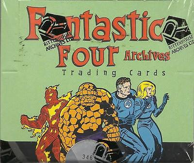 Marvel Fantastic Four Archives sealed case of 12 Boxes SKETCH IN EVERY BOX