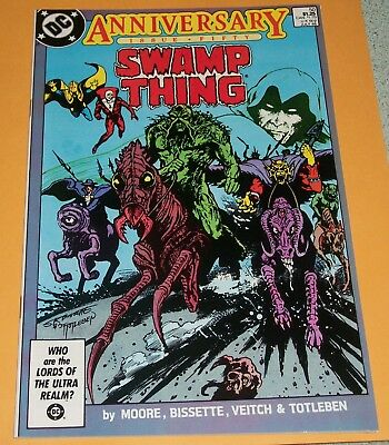 SWAMP THING #50 NM- (1986) 1st Appearance of Justice League Dark