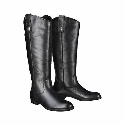 Merona Kasia Genuine Black Leather Riding Boots Sz 8 1/2 or 9 1/2 NWT