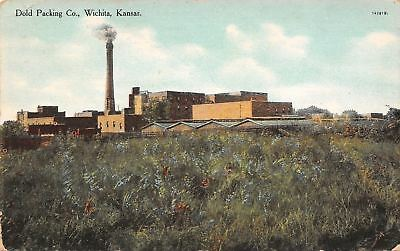 Wichita Kansas~Dold Packing Co c1910 Postcard