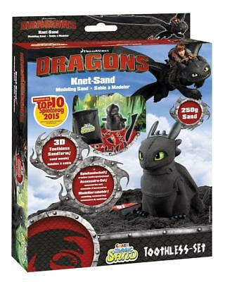Craze Magic Sand Dreamworks Dragons Ohnezahn Set