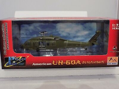 Winged Ace 1:72 Scale Sikorsky Blackhawk Helicopter UH-60A 101st Airborne Model