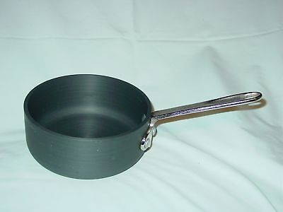 Commercial Aluminum Cookware Calphalon Anodized 1 Qt Quart Sauce Pan 5001