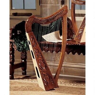 10th Century Replica Medieval Celtic Traditional Full 22 String Functional Harp