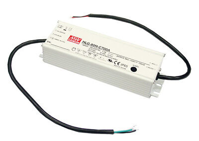 Meanwell MEAN WELL HLG-80H-12A 60W Weiss Netzteil