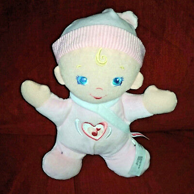 Fisher Price Brilliant Basics Hug 'n Higgle Baby Pink Musical Doll  2010