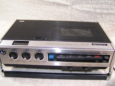 Vintage Sony TC-126CS Cassette Deck System w/MIC - Fully Serviced - Japan -1972