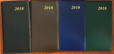2018 Slimline Diary - Weekly Planner Schedule Pocket Notebook Gift Business