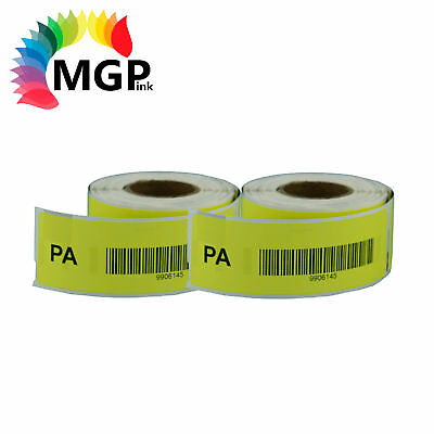 2 Compatible for Dymo/Seiko 99010 Yellow Label 28mm x 89mm Labelwriter450 Turbo