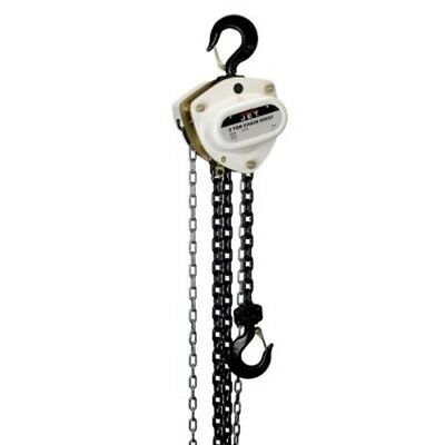 Jet 206121 L-100-200WO-20 2-Ton Hand Chain Hoist 20' Lift, Overload Protection