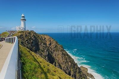 Digital Photo Wallpaper Desktop Screensaver - Byron Bay Lighthouse NSW Australia