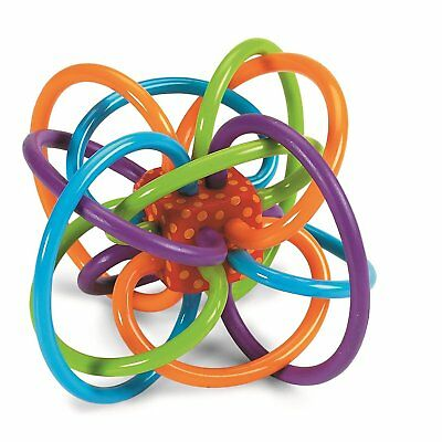 Manhattan Toy Winkel Rattle and Sensory Puzzle Teether Activity Toy US