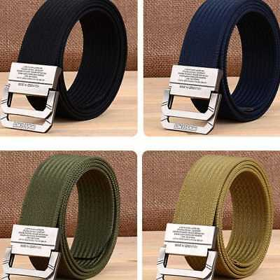 New Men's Military Belt Outdoor Army Tactical Nylon Belts Waist Strap  New.