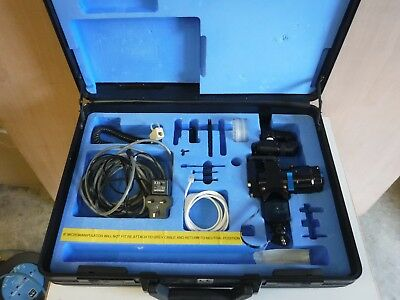 Sharplan Lumenis Acuspot 712 CO2 Laser Micromanipulator + extras