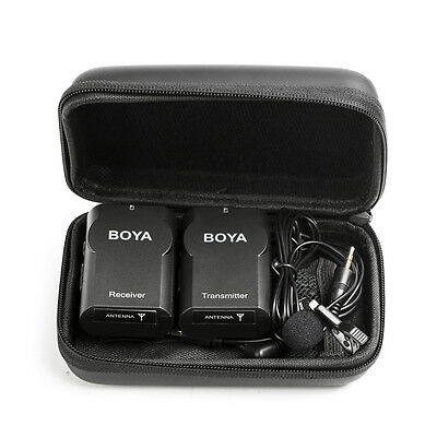 Wireless BOYA BY-WM4 PRO UHF Lavalier Microphone System for Camera DSLR & Phones