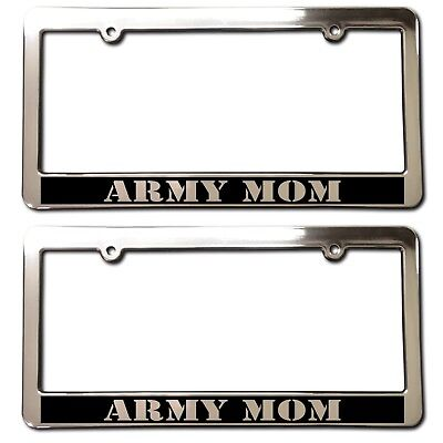 License Plate Frame-THE FEW-THE PROUD//THE MARINES-Polished ABS #3378YR