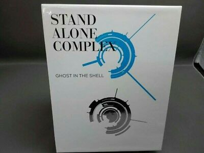 Ghost in the Shell STAND ALONE COMPLEX Blu-ray Disc BOX SPECIAL EDITION F/S USED
