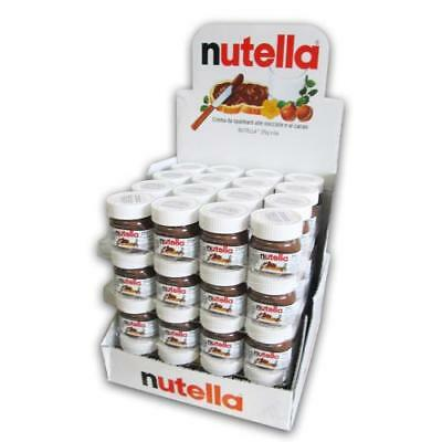 64 x Nutella Mini 25g Glas MHD 31.01.19