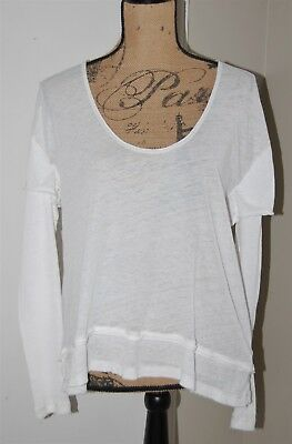 NWT We The Free by Free People Layered Look Magic Tee, White, Sz. X-Small