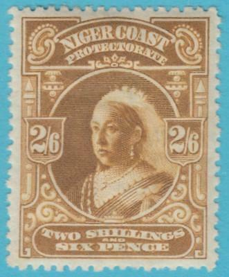 Niger Coast 62 Mint Hinged Og * No Faults Extra Fine !