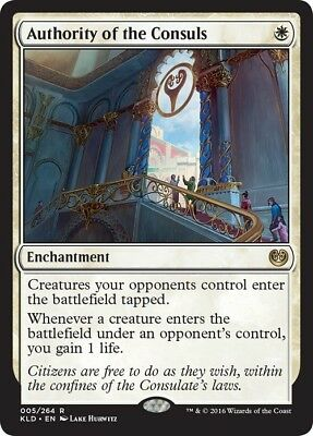 Authority of the Consuls ~ Kaladesh ~ NearMint/Excellent+ ~ Magic The Gathering