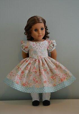 "18"" Doll Pastel Spring Dress Civil War Era Marie-Grace American Girl"