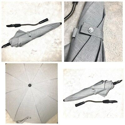 Stokke Stroller Parasol Gray (umbrella) SPS 50+ protection + adjustable arm 2017