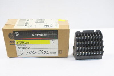 New General Electric Ge 10080736G1 Secondary Disconnect Block 36Pt D592076
